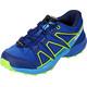 Salomon Junior Speedcross Shoes surf the web/cloisonné/green flash